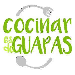 Cocinar es de Guapas - Logo 300