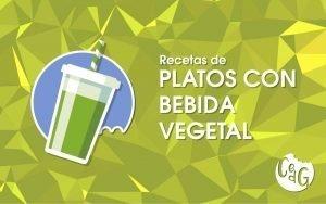 Recetas de Platos Con Bebida Vegetal - Cocinar es de Guapas