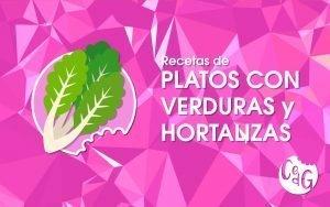 Recetas de Platos Con Verduras y Hortalizas - Cocinar es de Guapas