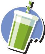 Cocinar es de Guapas - Bebidas vegetales - elementos veganos