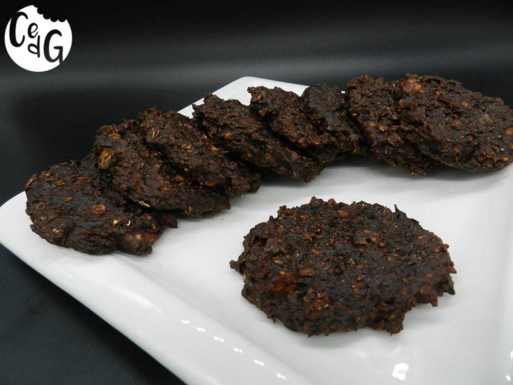 galletas de cacao y granola