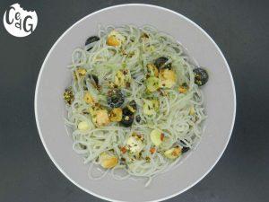 fideos de patata aglio e olio