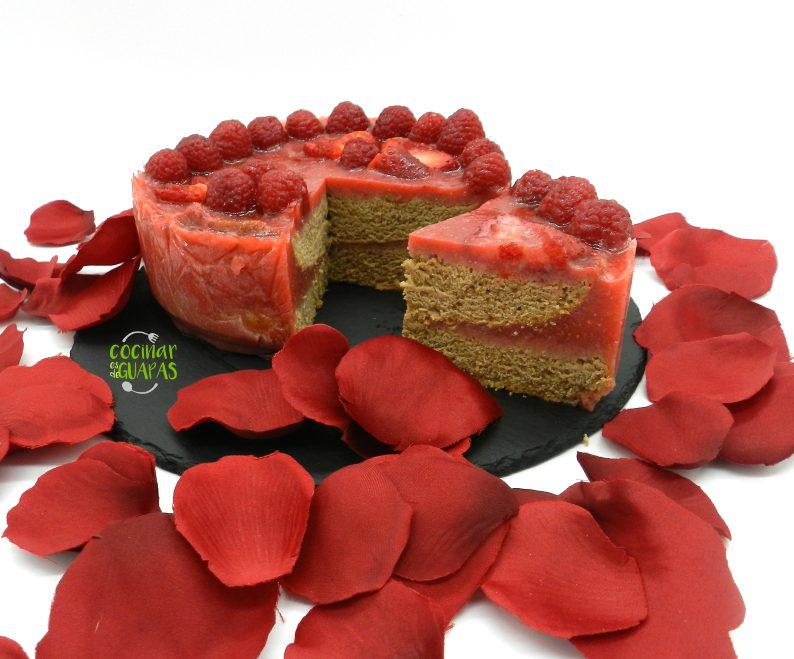 pastel de san Valentin